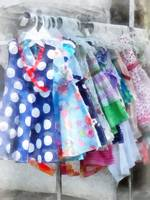 Girl's Dresses at Street Fair