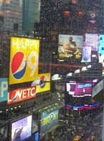 Times Square in the Rain by Paul Gaither