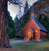 Yosemite Chapel by Paul Gaither