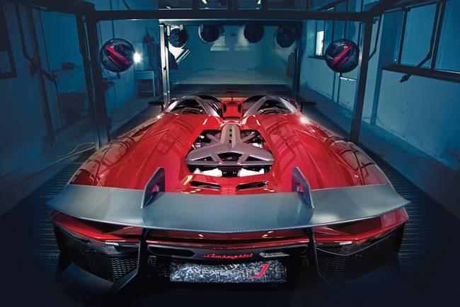 Lamborghini Aventador J Concept Rear 2012 By Road Track