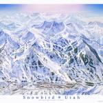 """""""Snowbird Utah"""" by jamesniehuesmaps"""