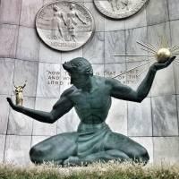 """""""Spirit of Detroit"""" by geoffe"""