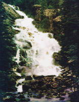 Teton Waterfall