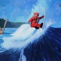 """Surfer Joe"" by Tinman"