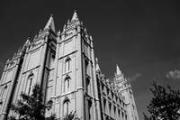 Mormon Temple: Salt Lake City