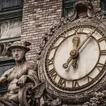 New York Central Building Clock by James Howe