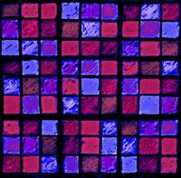Sudoku Abstract Red Purple