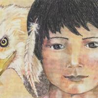 Indian and Eagle Art Prints & Posters by Cheryl Lee