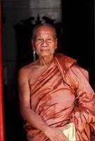 Old Buddhist Monk