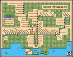 Toronto TTC Subway Map Super Mario 3