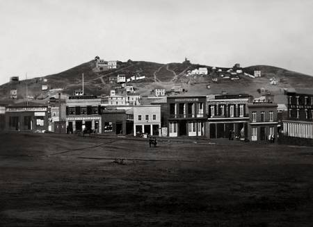 Portsmouth Square San Francisco 1850