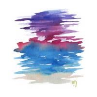 Atom Sea No18 by MARINA KANAVAKI