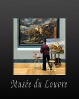 Artist Working at the Louvre in Paris