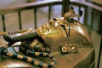 Tutankhamum's Gold Coffin