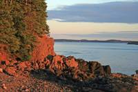 Nightime on Deerhead island New Brunswick
