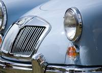 MGA Grille and Headlights