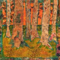 """""""Tangerine Trees, Tree Art"""" by schulmanart"""