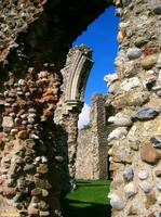 Leiston Abbey ruins
