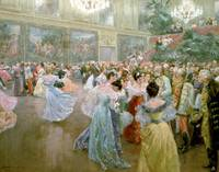 Court Ball at the Hofburg, 1900 (w/c)