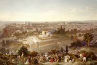 Jerusalem in her Grandeur, engraved (1807-76) 1860