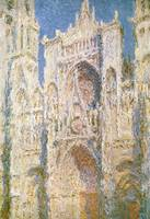 Rouen Cathedral, West Facade, Sunlight, 1894 (oil