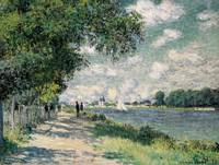 The Seine at Argenteuil, 1875 (oil on canvas)