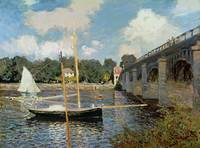 The Seine at Argenteuil (oil on canvas)