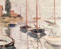 Sailboats on the Seine