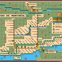 """Montreal Metro Map In Mario 3 Style"" by originaldave77"