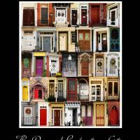 """Doors of Bordentown"" by LouiseReeves"