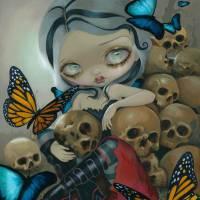 """Butterflies and Bones"" by strangeling"