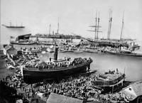 Ferry Boat Monarch, San Francisco c1880 by WorldWide Archive