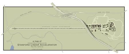 A Map of the Stanford Linear Accelerator