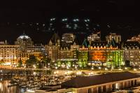 The Empress Hotel & Victoria Harbor
