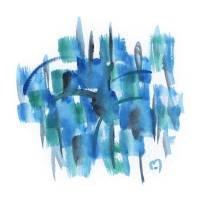 Atom Sea No15 by MARINA KANAVAKI