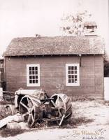 Schoolhouse and Tractor