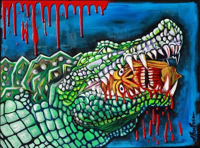 Crocodile Lollipop