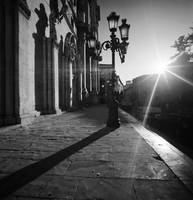 B&W Sulmona's Shadows