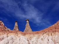 Hoodoos and New Mexico sky
