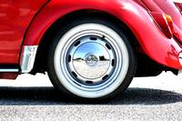 1965 VW Beetle cabriolet - wheel detail