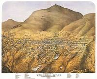 Virginia City Nevada Panoramic Map
