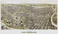 Fort Worth Texas Panoramic Map
