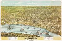 Memphis Tennessee Panoramic Map