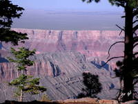 North Rim Red Cliffs 9530