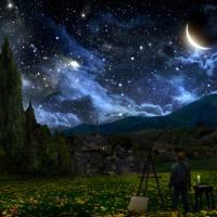 Starry Night Art Prints & Posters by Alex Ruiz