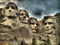 Mount Rushmore, South Dakota in HDR