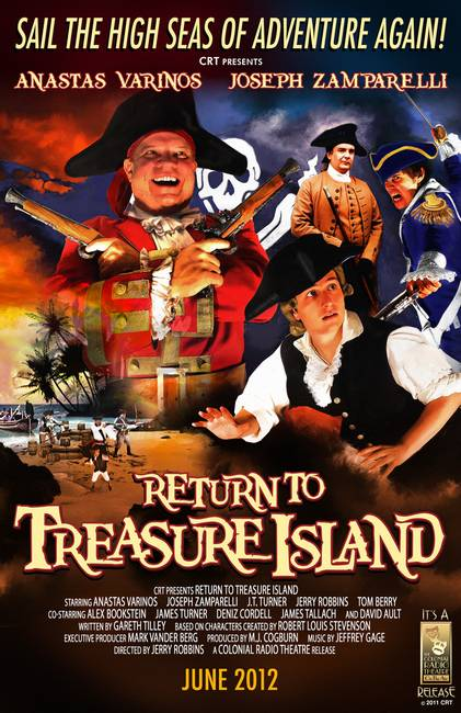 Return to Treasure Island Promotional Poster