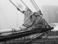 Emerge: Tall Ship in the Fog