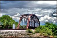 Union Pacific Bridge. Benson, Arizona