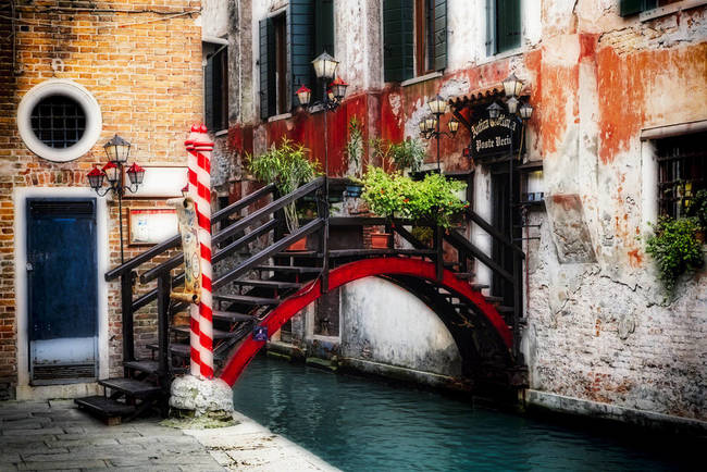Little Bridge in Venice